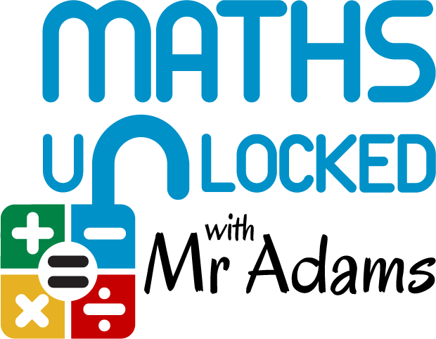 Maths Unlocked With Mr Adams Logo